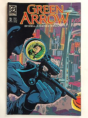 Green Arrow #13 (DC Comics) Holiday issue 1988