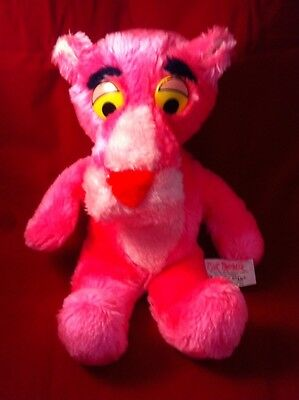 Pink Panther Vintage 1980S Soft Toy By Mighty Star