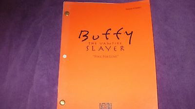 Buffy The Vampire Slayer Script Fool Love - Sarah Michelle Gellar James Marsters