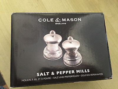 Cole and Mason Salt and Pepper Mills