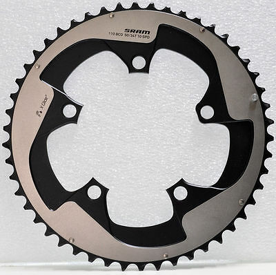SRAM RED Yaw X-Glide Hidden Bolt 50T Chainring, 110mm BCD, usable with S1 34T