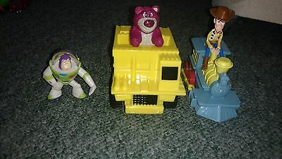 disney Toy story figures woody lotso buzzlight year