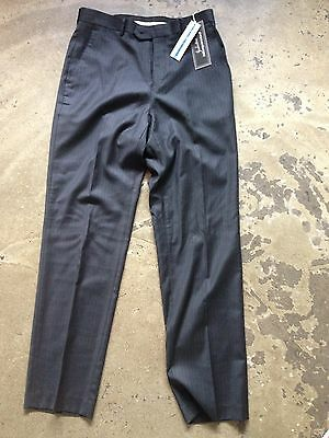 NWT Mens' Industrie Incorporated pants/trousers.Black Stripe. Straight Leg. S 30
