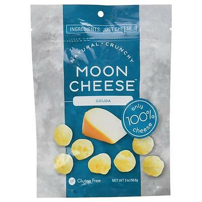 NEW Moon Cheese Crunchy Gouda Snack Gluten-Free 100% Natural Protein 00502 CHOP