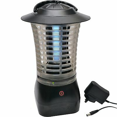Gecko INSECT ZAPPER GKOLT4 4W + AC Adaptor, Cordless, Rechargeable *Aust Brand