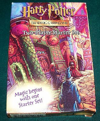 Harry Potter Trading Card Game - Two-Player Starter Set - Sealed Cards!