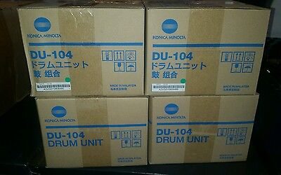 4 piece drum set...DU-104 for bizhub press C6000/C7000