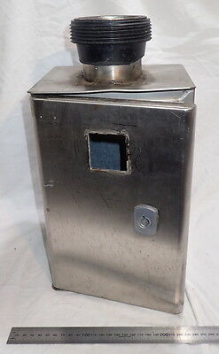 Used Atlantic Inox IP66 Small stainless steel electrical cabinet