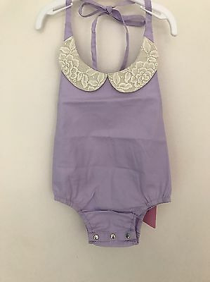 BNWT Lacey Lane Honey Blossom Collarsuit Size 1