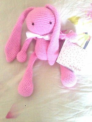 Crochet Amigurumi Rabbit/Bunny Toy Knitting Handmade