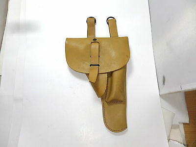 French Foreign Legion Tan Leather 9Mm Mab Holster