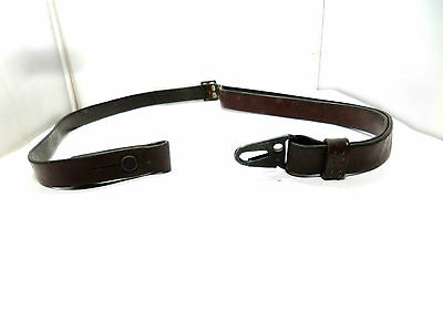 German Army Hk91 / Hkg3 [Heckler & Koch] G3 Brown Leather Rifle Sling