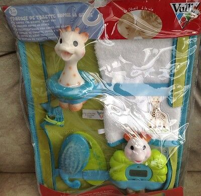 Sophie The Giraffe Bath Time Set ,everything You Need At Bath Time.����