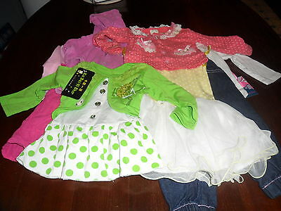 Girls clothing   size 1  some new with tags