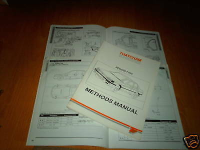 Body Repair Manual Peugeot 605 SLi SRi SV SVE SRdt