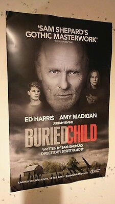 Buried Child London Theatre poster
