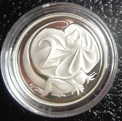 1991 silver proof 2 cent coin taken from masterpiece in silver set