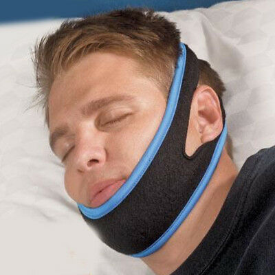 Anti Snoring Chin Strap Belt Stop Snore Device Effective Support Solution New