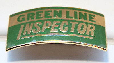 GREEN LINE Inspectors Cap Badge - London - GREENLINE COACHES