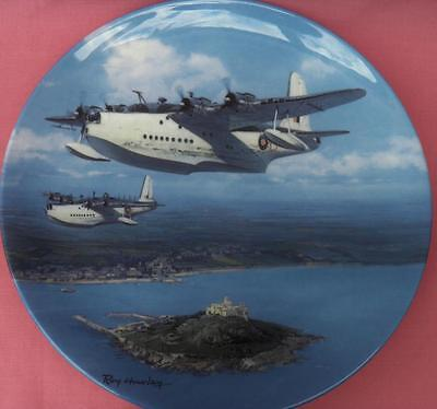 Royal Doulton Sunderland Over St. Michael's Mount Plate Roy Huxley Boxed