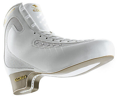 Edea Ice Fly junior Figure Skates White BOOT ONLY - 215 - Free Postage