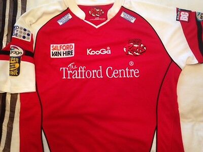 Salford City Reds Shirt - Size Large
