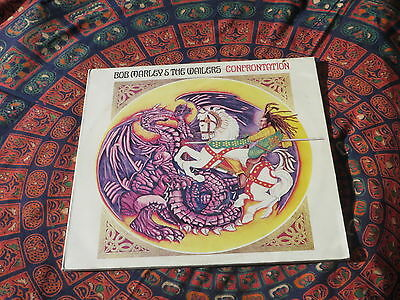 Bob Marley & The Wailers Confrontation LP Unplayed Condition