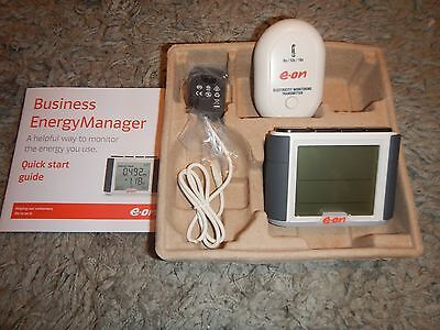 Eon Business Energy Manager Battery Powered Power Home Electricty Energy Monitor