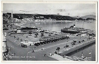 ROTHESAY, ISLE OF BUTE ~ A 1955 POSTCARD (y7)
