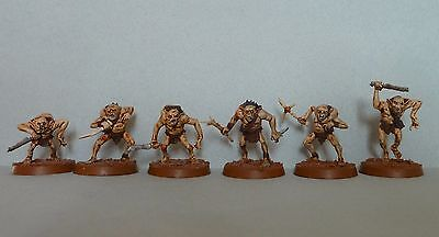LOTR - The Hobbit. 6 goblins.Superbly painted & based