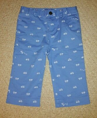 Joules bicycle pattern shorts age 9-10