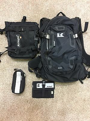 Krieger R20 Rucksack US10 Tail Bag And Extras