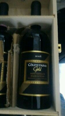 6 bt. Sagrantino Colpetrone Gold 2006 OWC