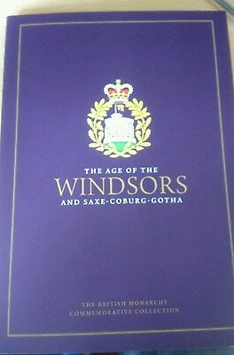 The Age of the Windsors and Saxe-Coburg-Gotha 24 Carat Gold Medals, Limited edit