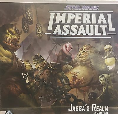 Star Wars Imperial Assault, Jabba's Realm,NEW & SEALED!!