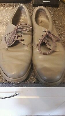 mens leather k shoes size 9.5