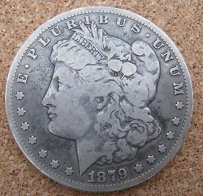 1879 CC Carson City Silver Morgan Dollar