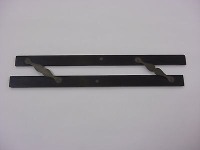Antique Froughton & Simms Parallel ruler ebony and brass