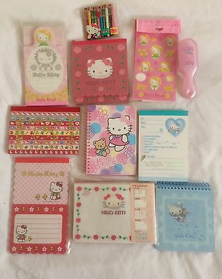 Hello Kitty Notepads And Stationary