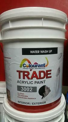 Paint : low sheen trade  ( tintable ) 20 ltrs