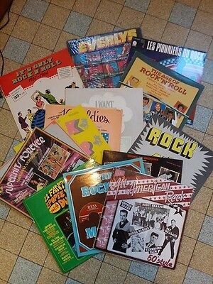 Nice lot 13X Lp's  50's Rock 'n roll /  rockabilly GREAT CONDITION