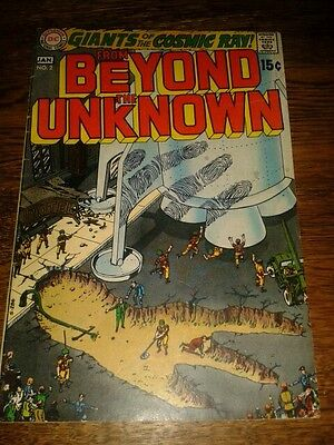 Marvel Comics Silver/Bronze age From Beyond The Unknown lot inc #2