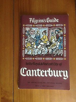Collectable 1961 Booklet. Pilgrims Guide To The City Of Canterbury