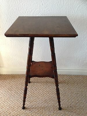 Solid Antique Occasional Table (Le65)