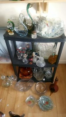 Large Lot of Glass Items