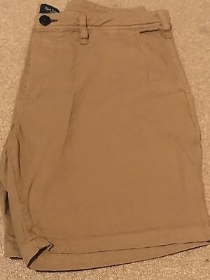 Paul Smith Men's Chino Shorts | Beige | 36