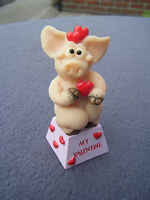 Piggin' : My Valentine Ornament / figurine