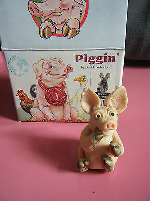 Piggin' ornament 'Piggin Petrified'  boxed
