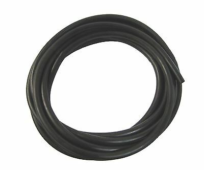 Petrol Pipe, Neoprene, 10mm x 14mm, Black, 5 Metre Roll,