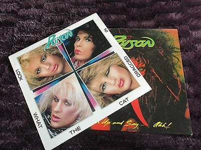 POISON 2x LPS GREAT DEAL
